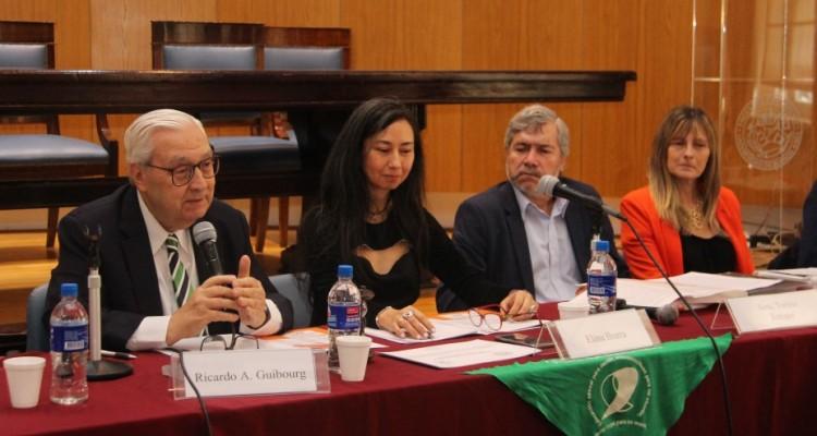 Ricardo Guibourg, Elina Ibarra, Enrique Toribio Sosa y Mariana Cucatto