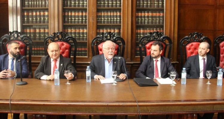 Lucas Caparros, Miguel Maza, Adrián Goldin, Juan Pablo Mugnolo y Martin Golcman