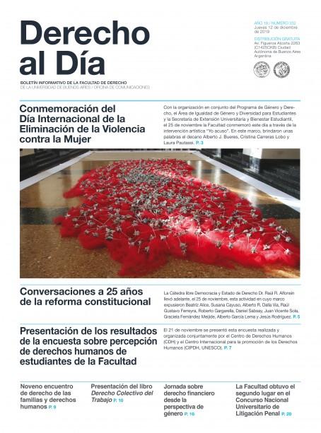 Tapa de Derecho al Día - Edición 332