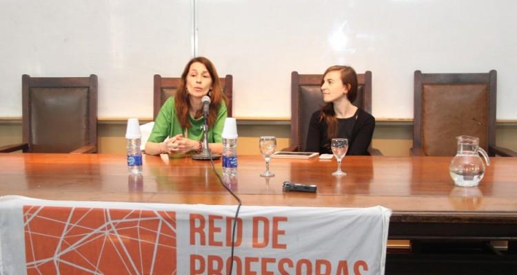 Laura Pautassi y Lorena Balardini