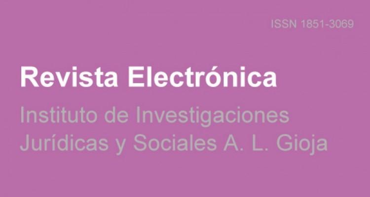 Nuevo número de la revista electrónica del Instituto Gioja