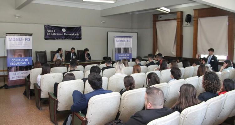 Primera edición del Modelo de Naciones Unidas de la Facultad - Especial Consejo de Seguridad