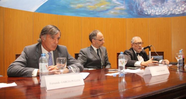 Fernando García Pullés, Carlos S. Balbín y Ernesto Marcer
