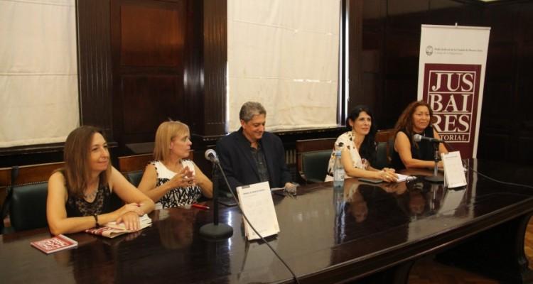 Andrea Gastron, María de las Victorias González Silvano, Marcelo Alegre, María Alejandra García y Gabriela Nasser