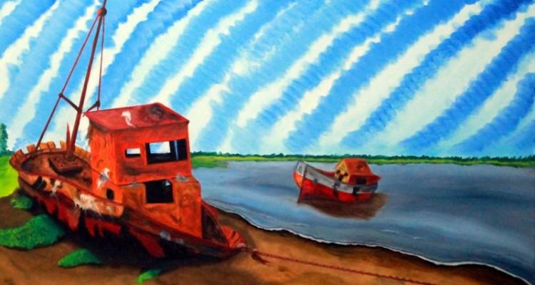 Pinturas en tiempos de aislamiento social