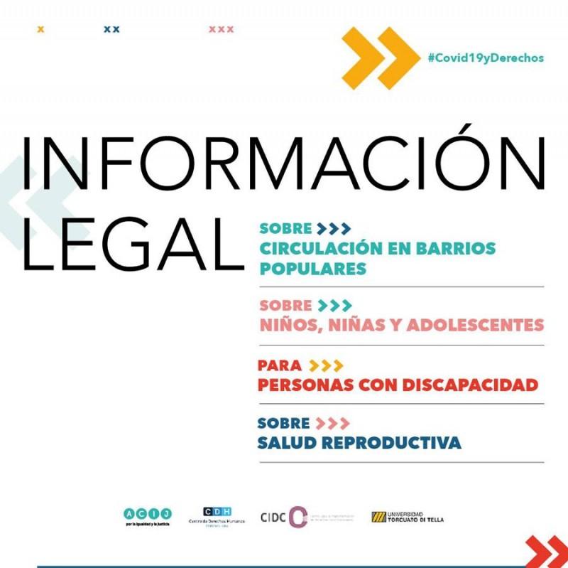 Información legal en el marco de la Emergencia Sanitaria COVID-19