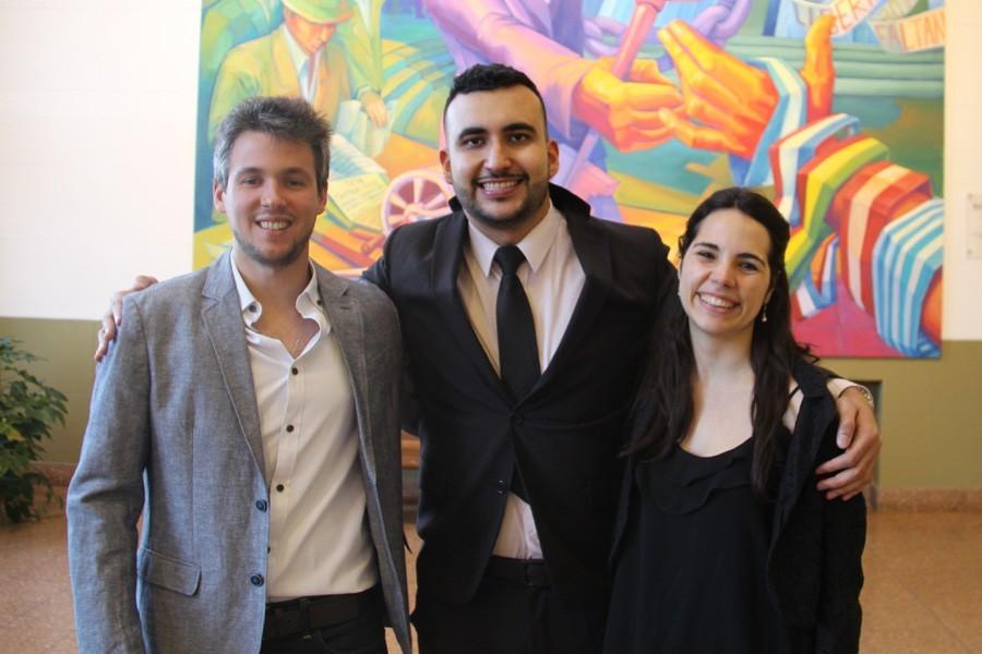 Kevin Gerenni, Alejandro Gutiérrez Pérez y Natalia Dánae Zorzin