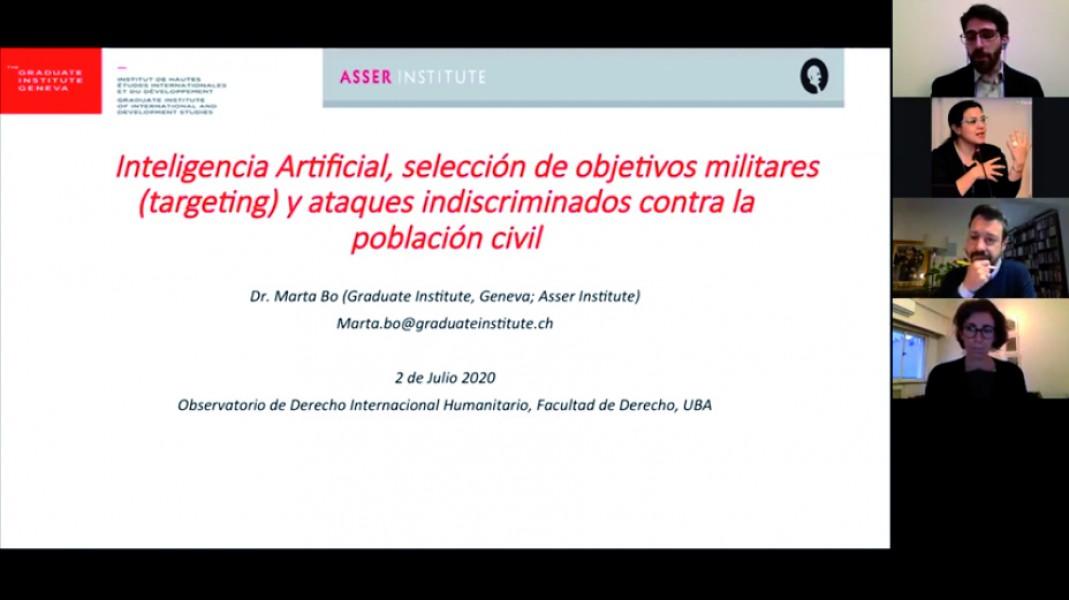 Inteligencia artificial, selección de objetivos militares <i>(targeting)</i> y ataques indiscriminados contra la población civil