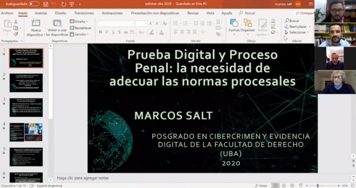Cibercrimen y evidencia digital