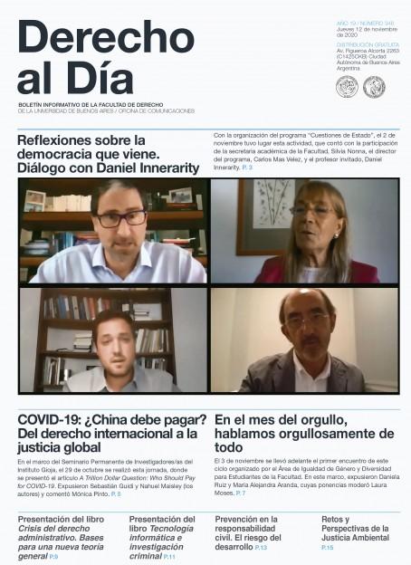 Tapa de Derecho al Día - Edición 348