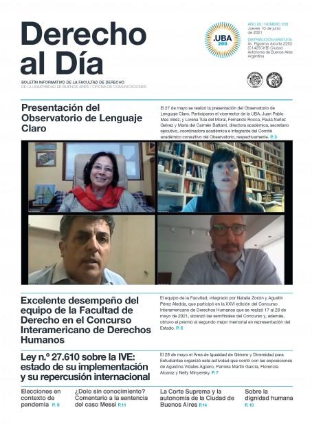 Tapa de Derecho al Día - Edición 356