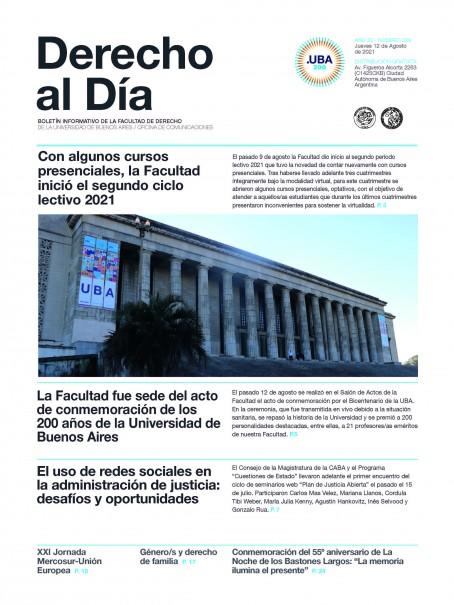 Tapa de Derecho al Día - Edición 359