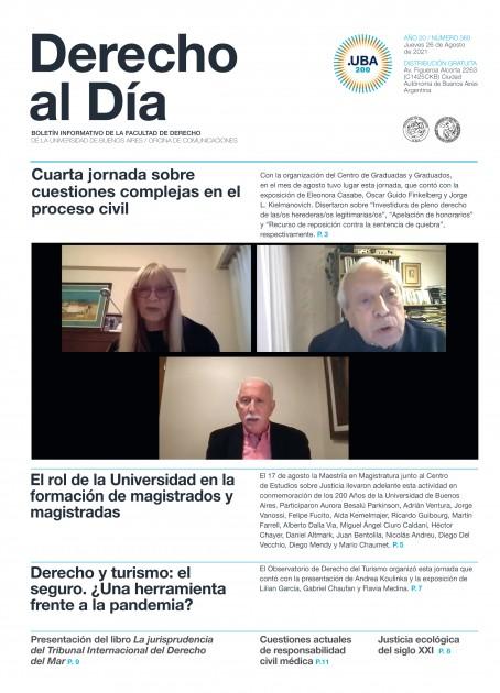Tapa de Derecho al Día - Edición 360