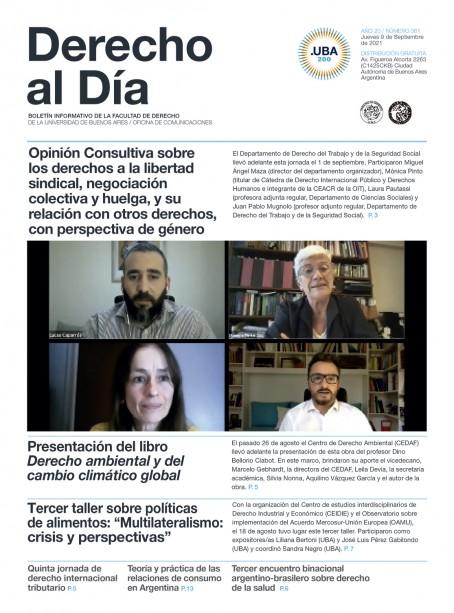 Tapa de Derecho al Día - Edición 361
