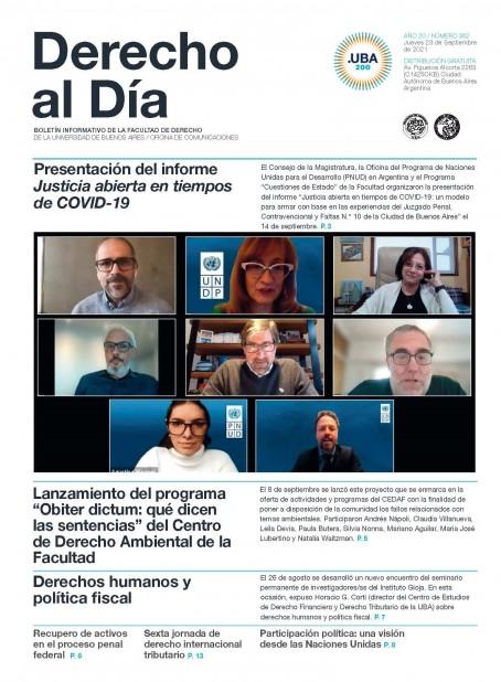 Tapa de Derecho al Día - Edición 362