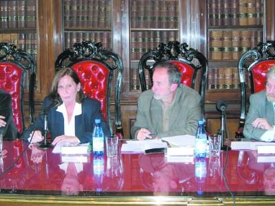 Alejandro Alagia, Susana Albanese, Jesús Rentero Jover y Gregorio Flax