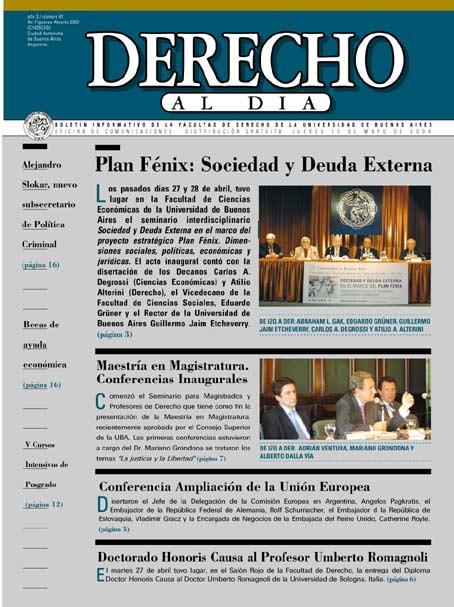 Tapa de Derecho al Día - Edición 47