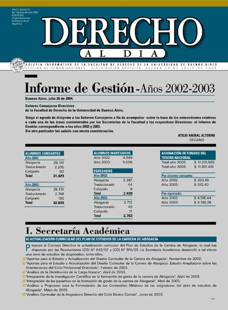 Tapa de Derecho al Día - Edición 51