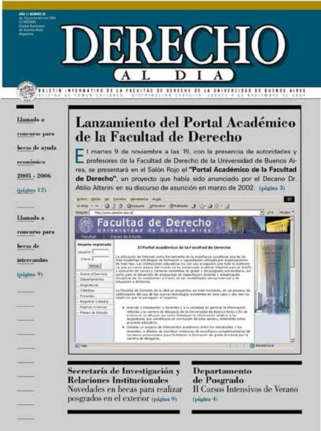 Tapa de Derecho al Día - Edición 58