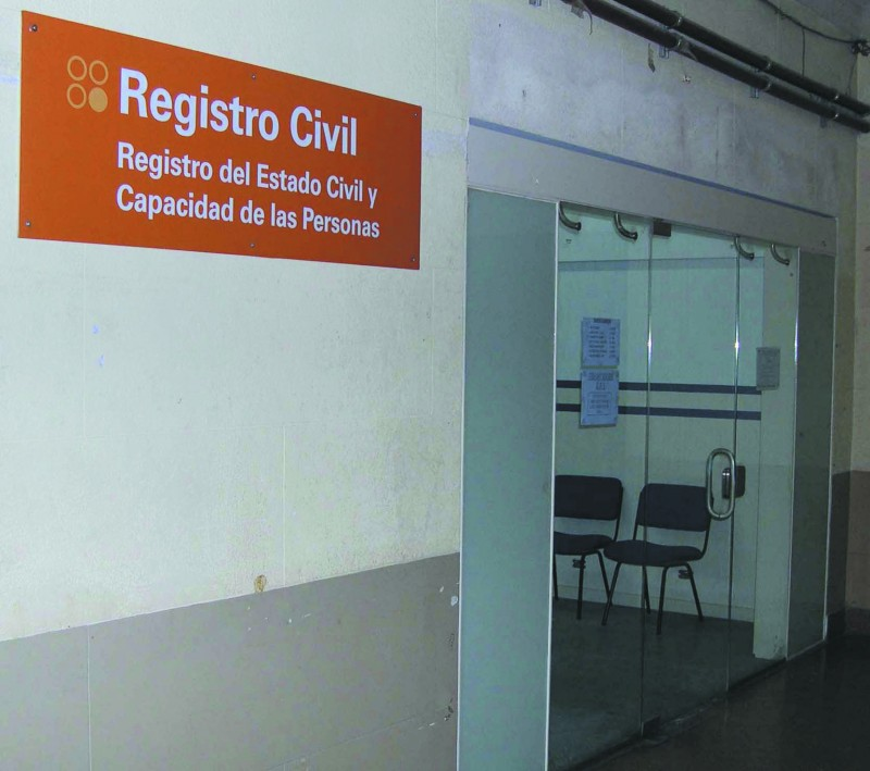 Nueva sede del Registro Civil en la Facultad