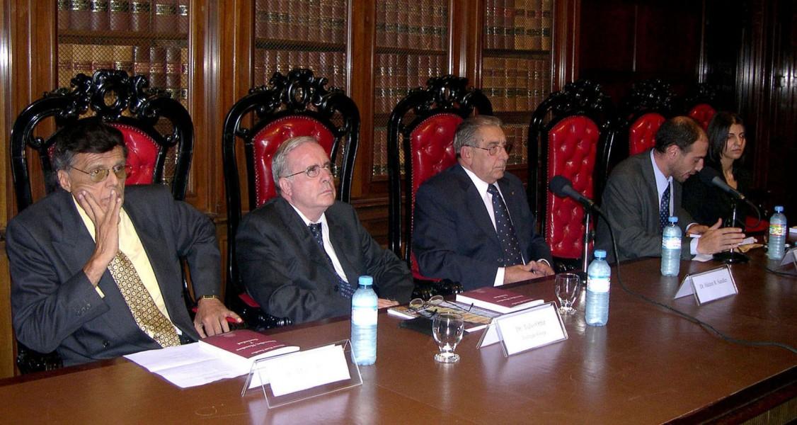 Dr. Mario Edgardo Rojas, Dr. Tulio Ortiz, Dr. Héctor Sandler, Dr. Diego Duquelsky Gómez, Dra. Ágata Teti.