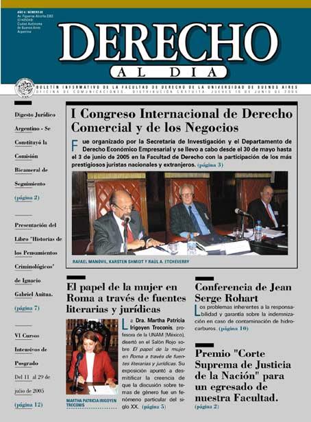 Tapa de Derecho al Día - Edición 69