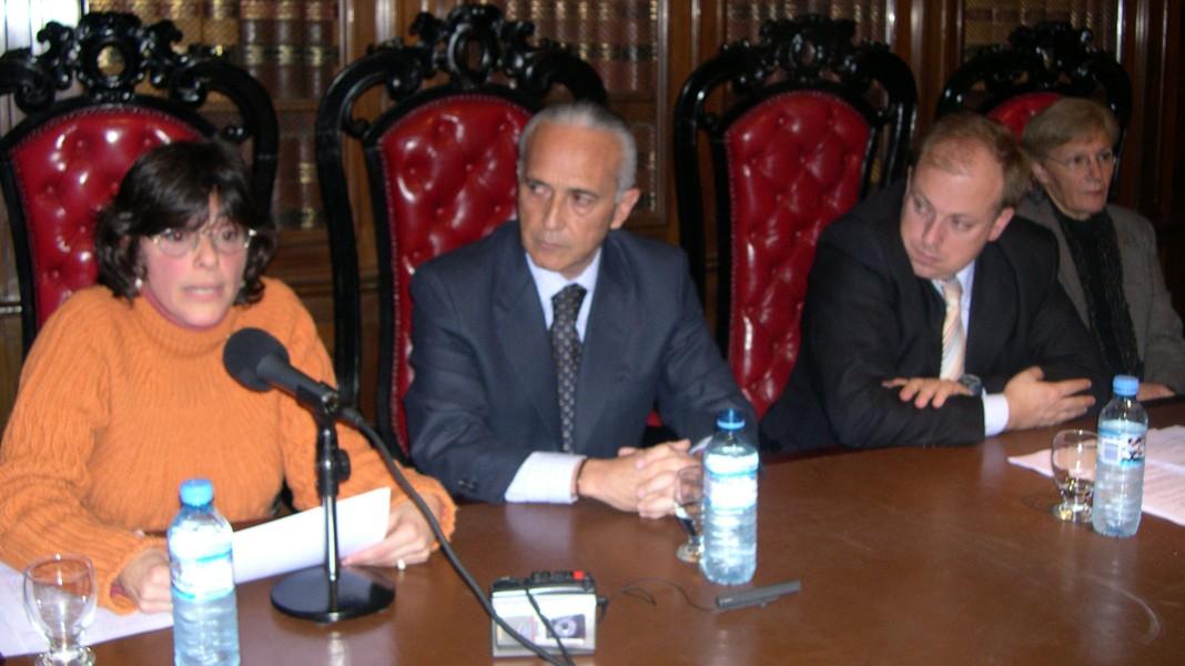 Andrea Poretti, Horacio Wamba, Ignacio Tedesco y Lidia Guerrero
