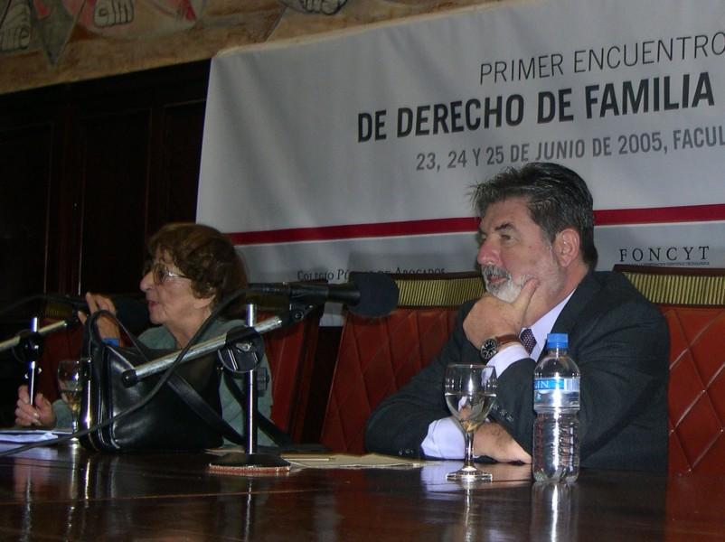 Cecilia Grosman y Carlos Cárcova