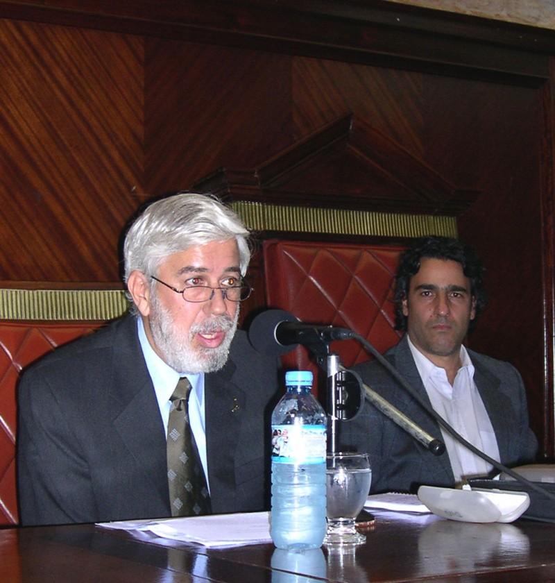 Mario Sznajer y Agustín Romero