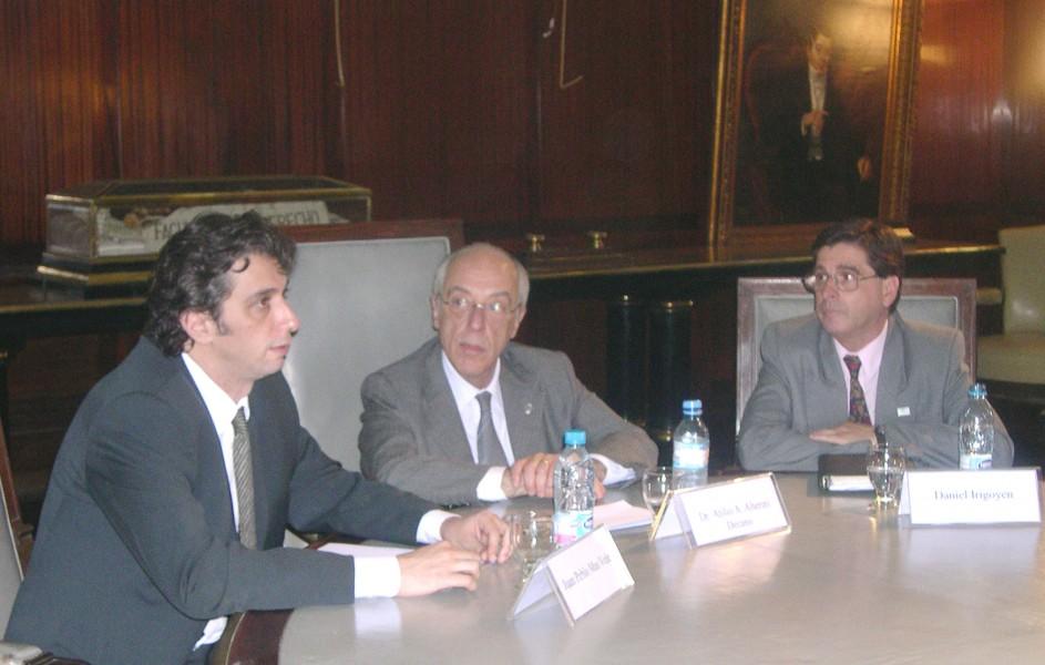 Carlos Mas Velez, Atilio A. Alterini y Daniel Irigoyen