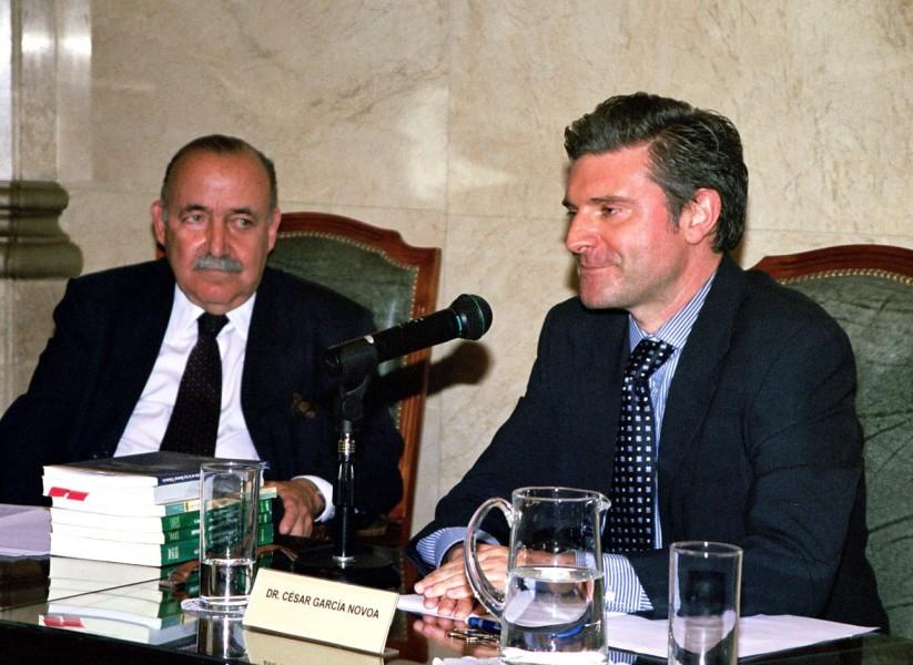 José Osvaldo Casás y César García Novoa