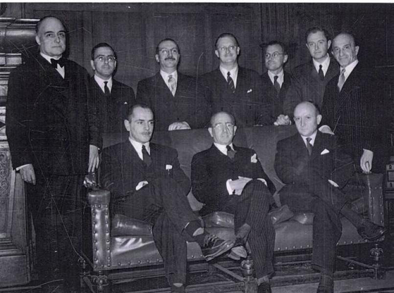 Seminario permanente sobre Historia de la Facultad de Derecho - Las conferencias de Hans Kelsen de 1949