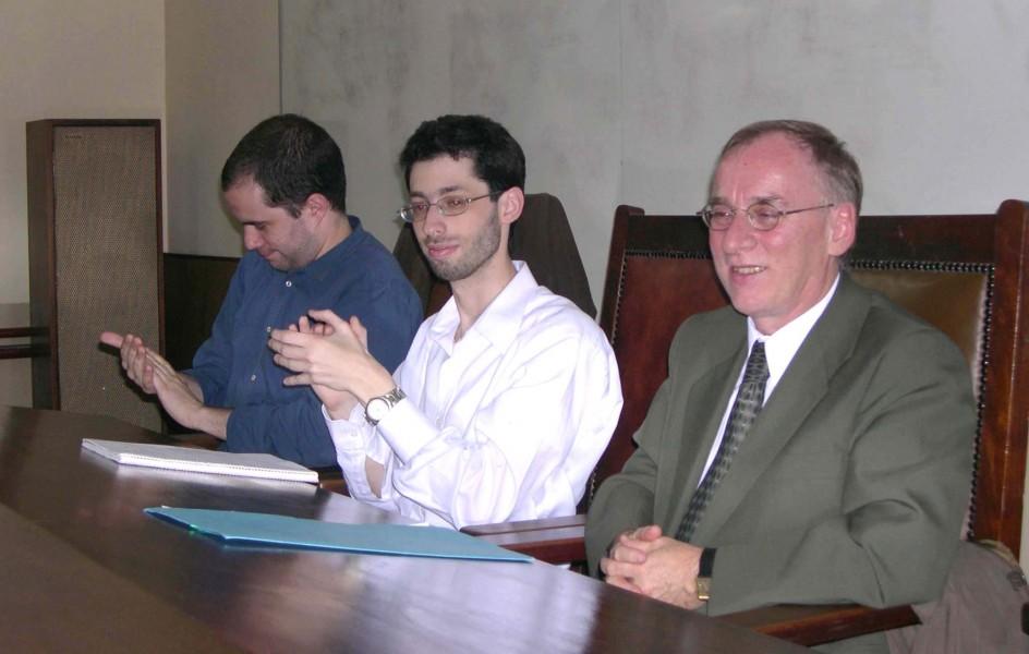 Lucas Barreiros, Diego Freedman y Pierre Bachand