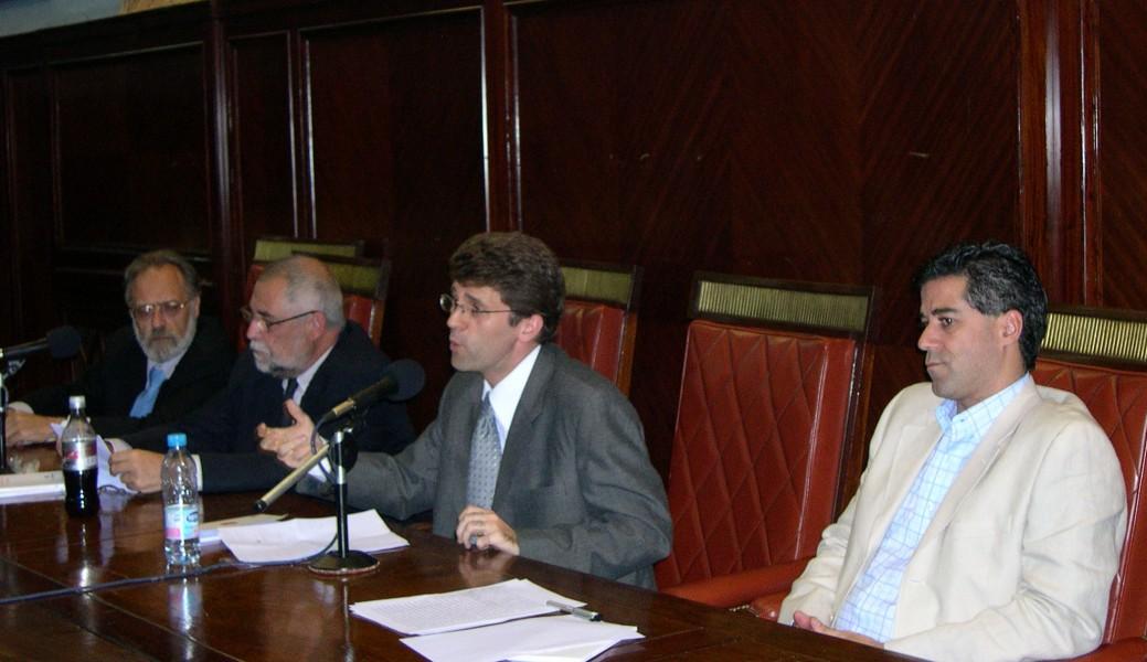 Edgardo Donna, Francisco Muñoz Conde, Ignacio Anitua y Daniel Rafecas