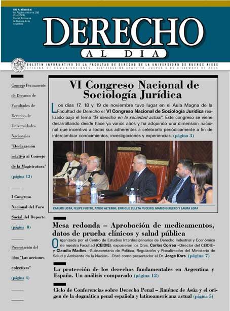 Tapa de Derecho al Día - Edición 80