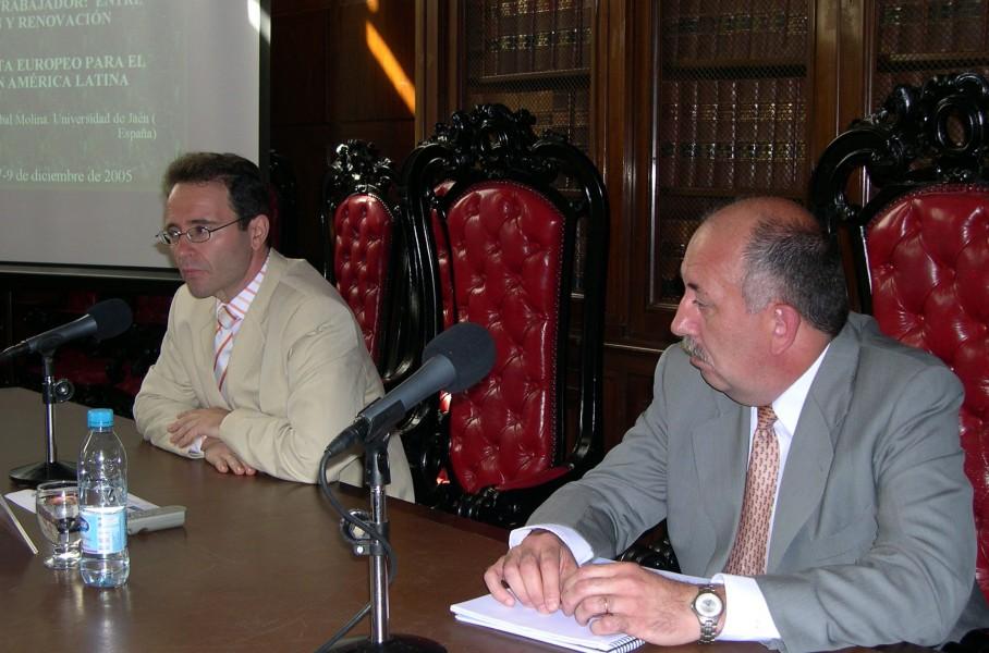 Cristóbal Molina Navarrete y Fernando J. Caparrós