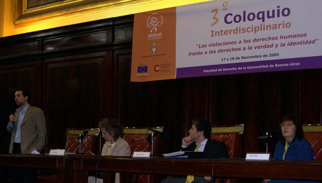 Luciano Hazan, Nara Osés, César San Juan y Elsa Freijo