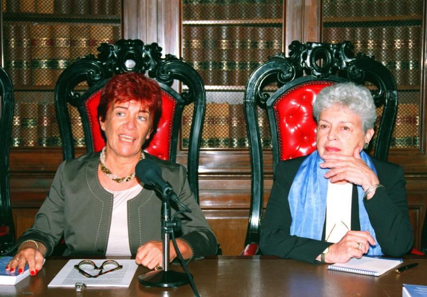 Mónica Pinto y Cecilia Medina Quiroga