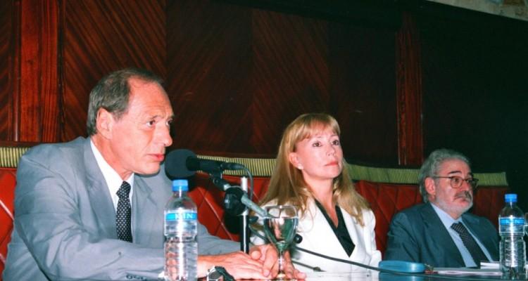 Eugenio Zaffaroni, Graciela Manonellas y Norberto Espolansky