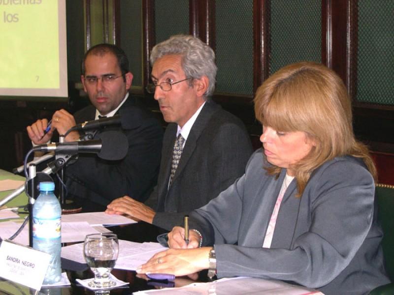 Welber Barral, Carlos Correa y Sandra Negro