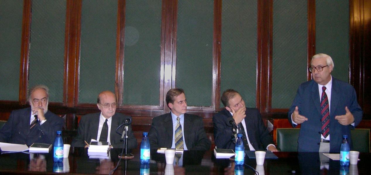 Eduardo Barcesat, Miguel Ángel Ciuro Caldani, Jorge Rodríguez, Eduardo Sodero, Ricardo Guibourg