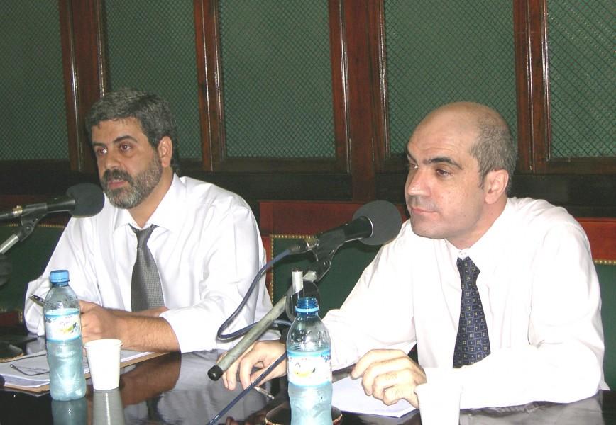 Fernando Osorio y Néstor Solari