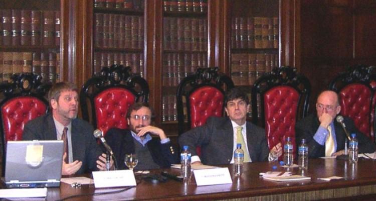Larry Crump, Pablo Sanguinetti, Juan V. Sola y Fernando Tesón
