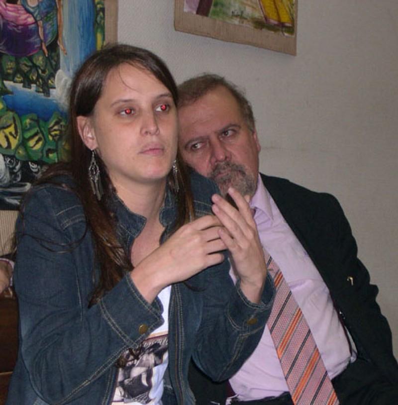 María Damasseno y Sergio Di Gioia