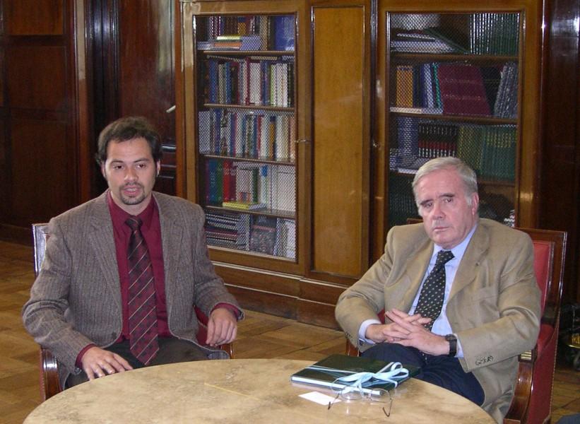Bernard Chapuzzeau y Tulio Ortiz