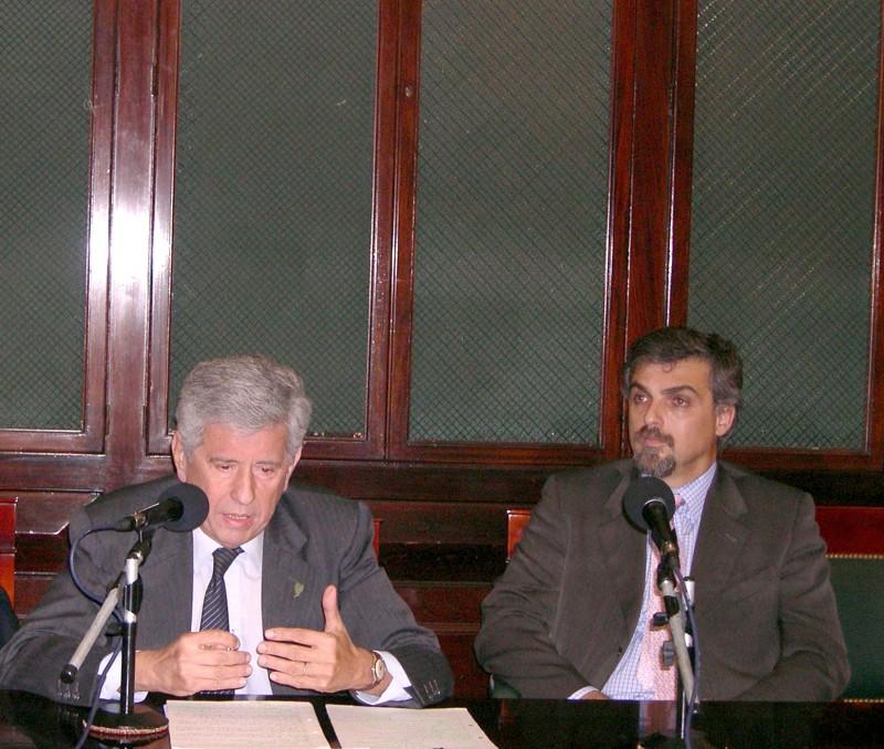 Pablo Ángel Tello y Estanislao Bougain