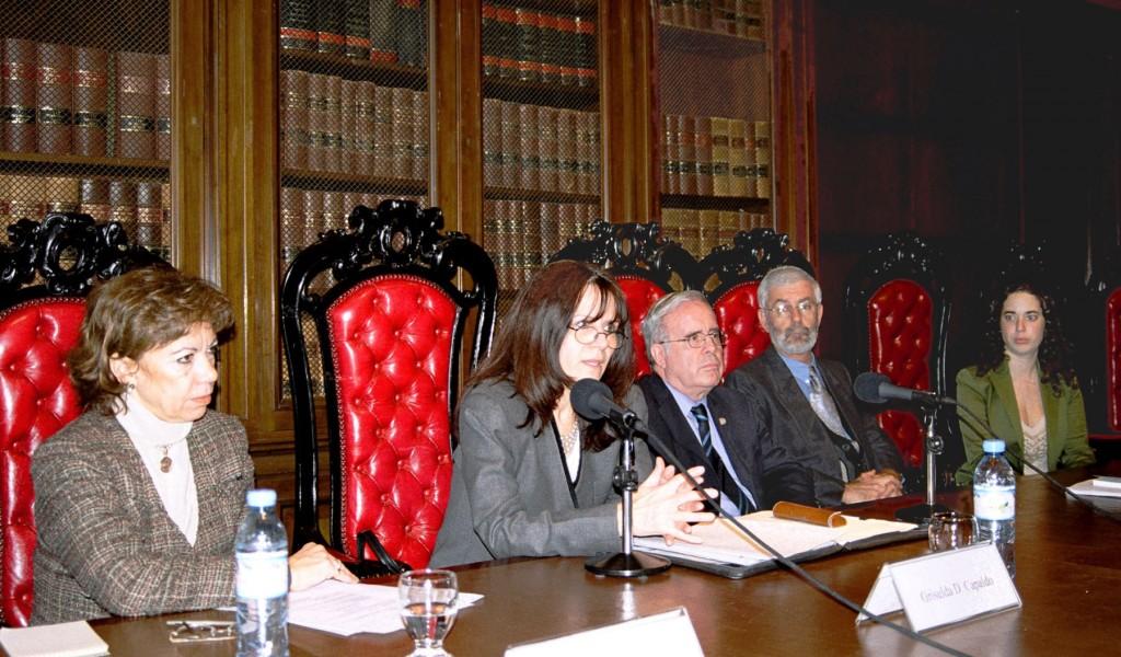 Marta Biagi, Griselda D. Capaldo, Tulio Ortiz, Christian Guy Caubet y Mariela Chervin