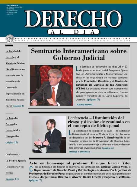 Tapa de Derecho al Día - Edición 90