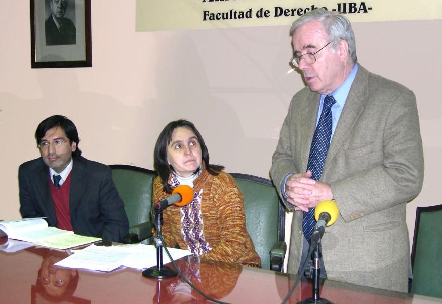 Guillermo Ruiz, Nancy Cardinaux y Tulio Ortiz