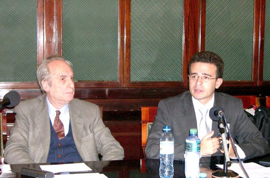 Eduardo Barbarosch y Andrés Botero Bernal